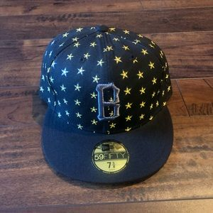 Black scale fitted 7 5/8